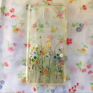 Cute Transparent Floral Jelly Android Phone Case